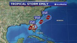 Tropical Storm Emily