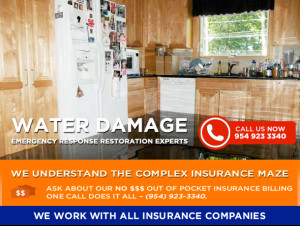 Water Damage - South Florida Water and Mold Restoration