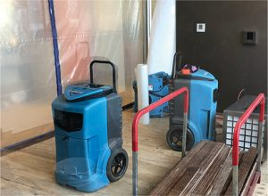 water damage dehumidifiers